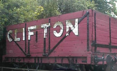 Clifton Coal Truck