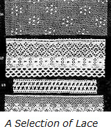 A selection of lace