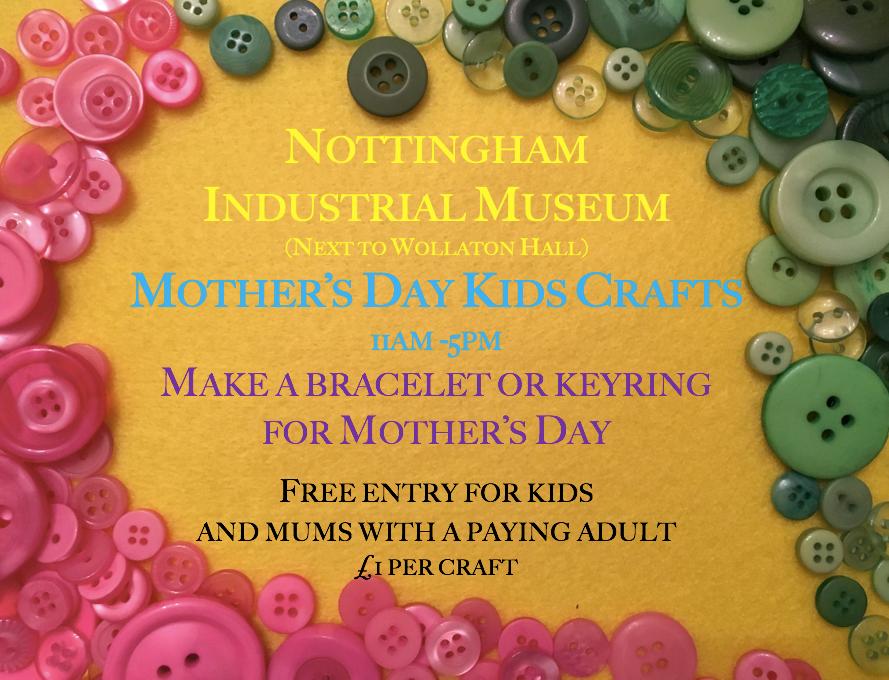 Mother S Day Children S Craft Activities At Nottingham Industrial