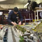 Children of all ages love the model railway