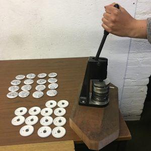 Badge Press